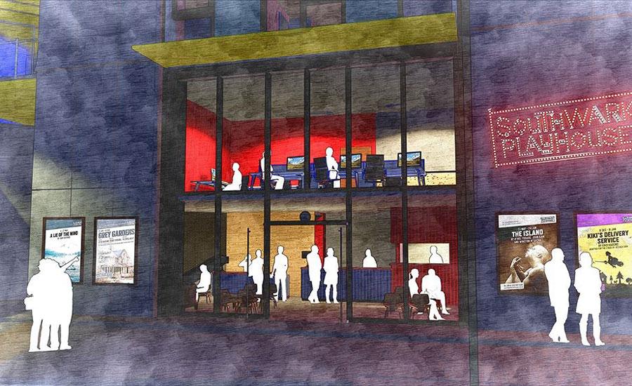 New Southwark Playhouse Artist Impression