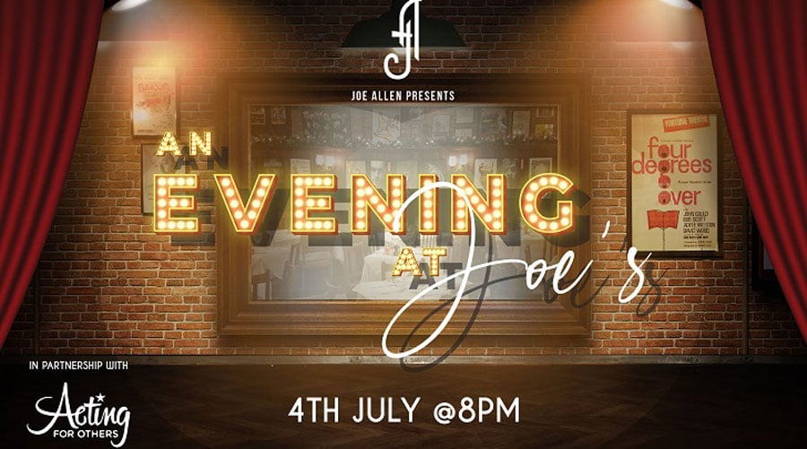 An Evening At Joes Joe Allen London