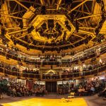 Interior of Royal Exchange Theatre Manchester