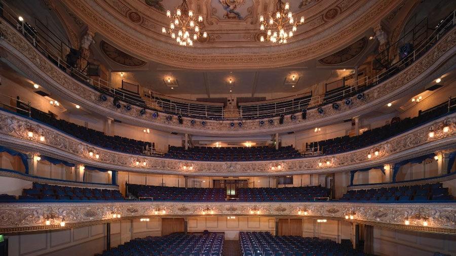 Blackpool Grand Theatre interior