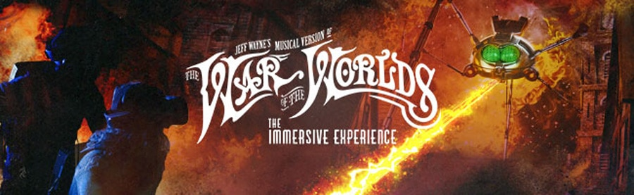 War Of The Worlds Immersive tickets London