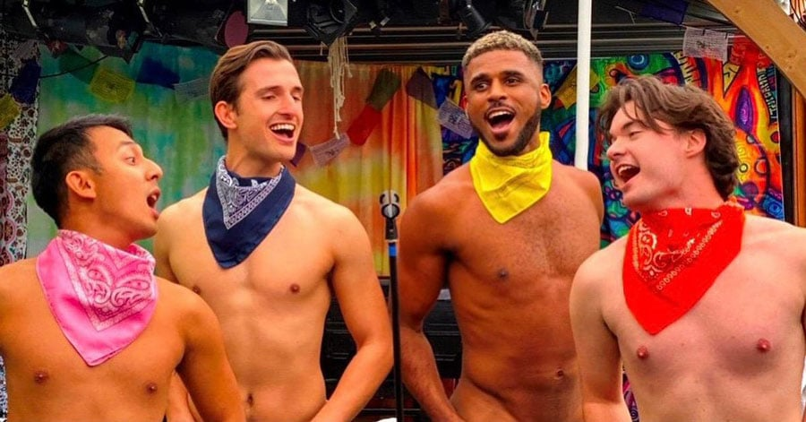 Naked Boys Singing review
