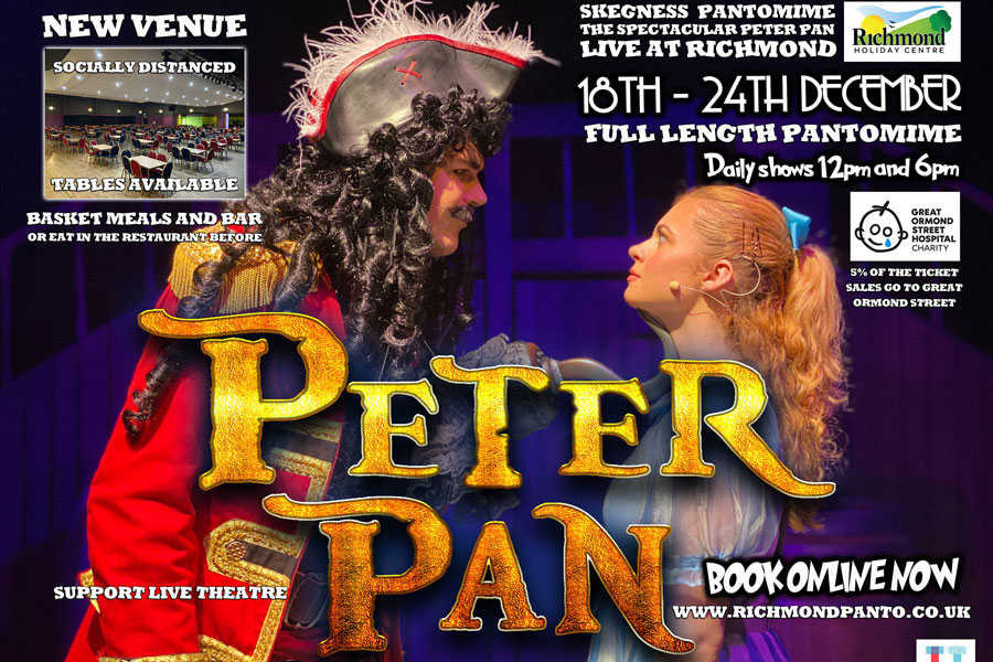 Skegness Pantomime 2020 Peter Pan