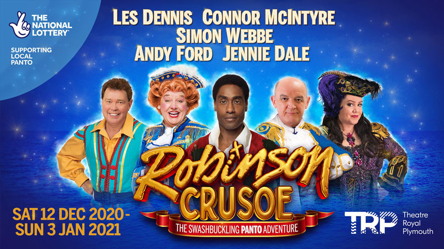 Robinson Crusoe Theatre Royal Plymouth