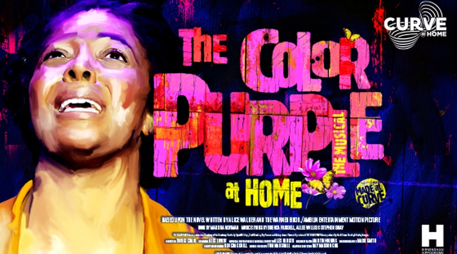 Color Purple musical online Curve Leicester