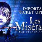 Les Miserables concert cancellation