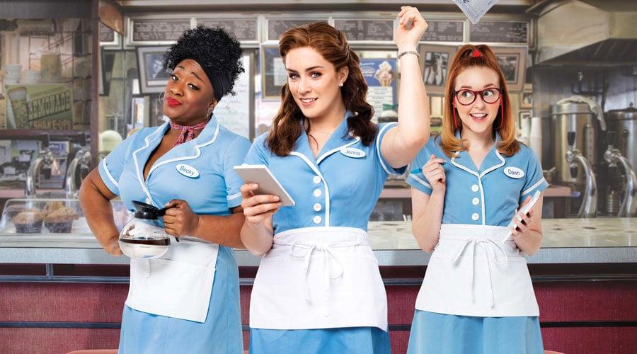Waitress tour cast
