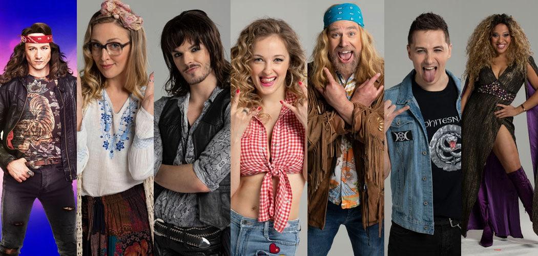 Rock Of Ages UK Tour cast 2021