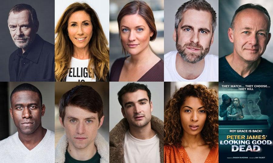 Looking Good Dead UK Tour cast