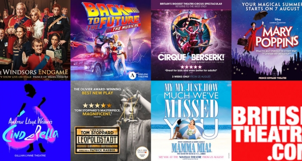West End Shows opening in August 2021 - Book Now!