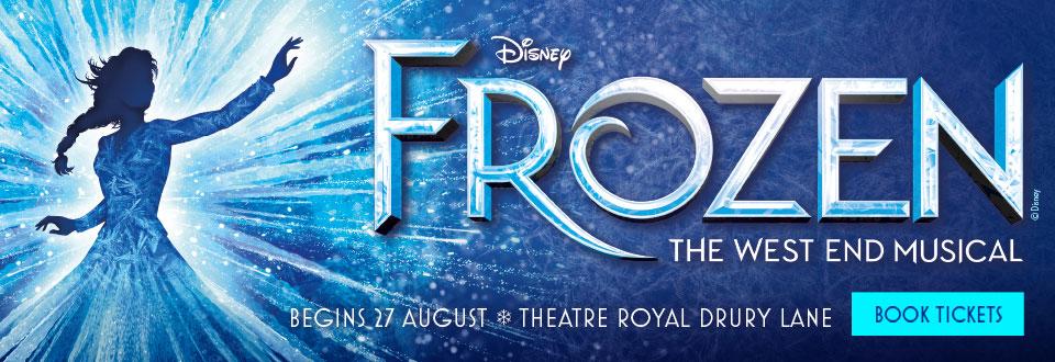 Frozen musical tickets
