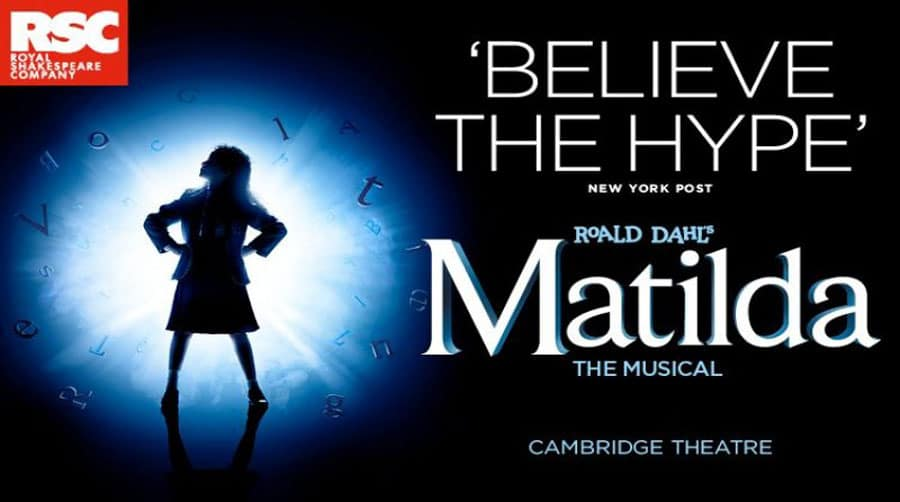 Matilda musical West End