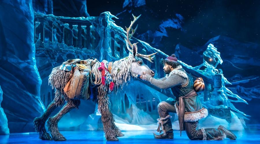 Frozen tickets London
