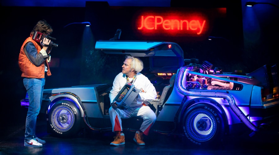 Back To The Future musical tickets