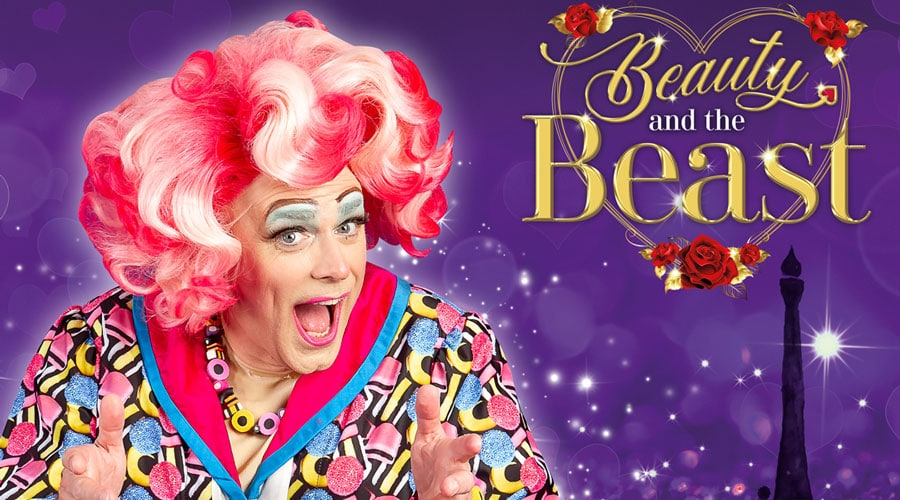 Chris Jarvis on playing Dame Betty Bonbon Nightshade in Beauty and the Beast at Poole Lighthouse